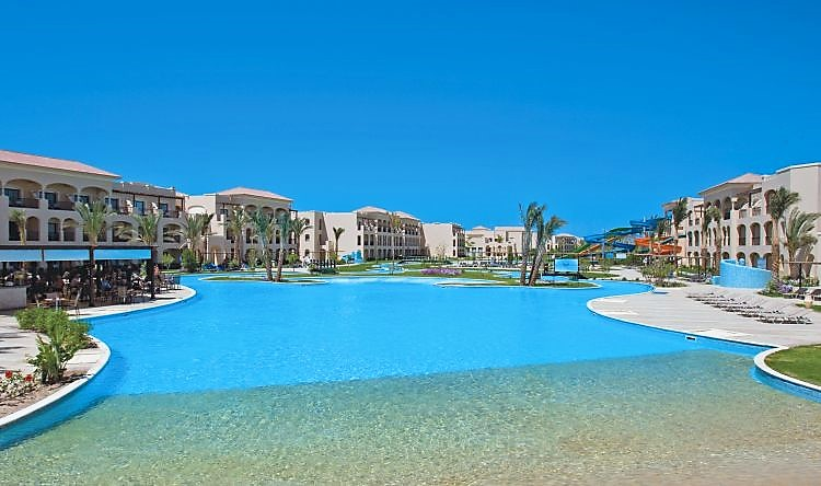 hotel jaz aquamarine resort 5 hurghada mer rouge egypte avec voyages leclerc travel. Black Bedroom Furniture Sets. Home Design Ideas