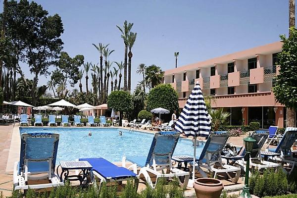 hotel chems 4 marrakech maroc avec voyages leclerc travel evasion ref 371586. Black Bedroom Furniture Sets. Home Design Ideas