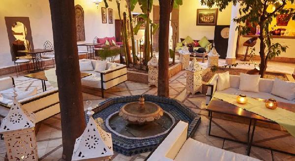 Maroc - Marrakech - Riad Les Jardins d'Henia