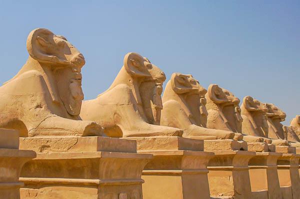 Les Déesses du Nil et Pharaoh Azur